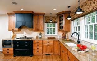 Oak Wood Kitchen Cabinets What Wood Flooring Goes With Oak Cabinets Cabinet Wood