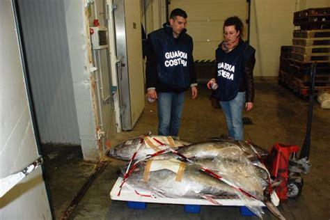 di commercio guidonia sequestro tonno rosso