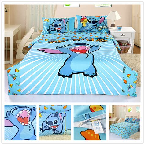 lilo and stitch bedding free shipping lilo and stitch bedding boys duvet cover