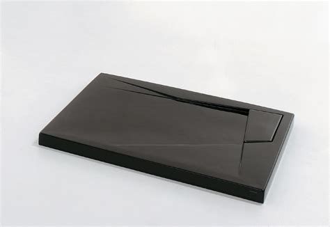 piatti doccia colorati rettangolari piatto doccia oz nero lucido 100x80 cm