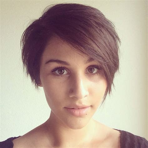 asymmetrical pieced pixie haircuts latest long pixie short bob asymmetrical cut and color