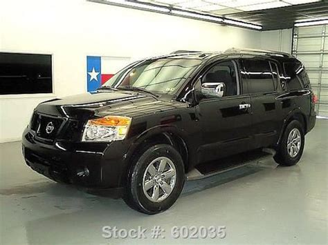 buy used 2011 nissan armada 8 passenger bose rear only