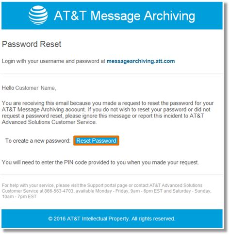 resetting at t wifi password resetting a forgotten password in the at t message