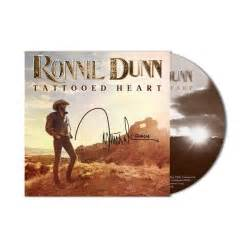 tattooed heart lyrics ronnie dunn autographed big machine label group