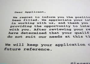 Rejection Letter Hired Someone Else Tips Tips And Tricks