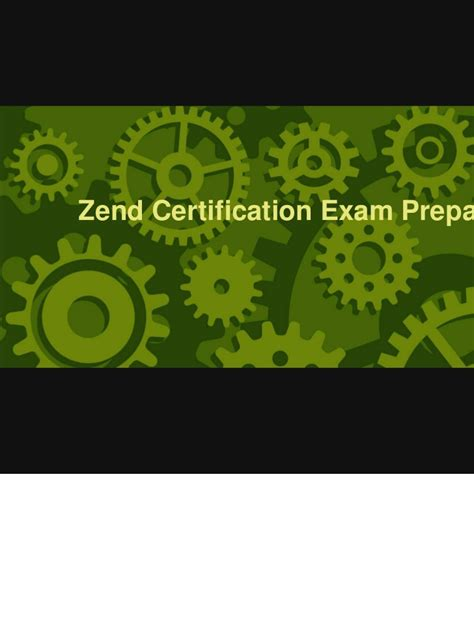 php tutorial for zend certification zend certification preparation tutorial
