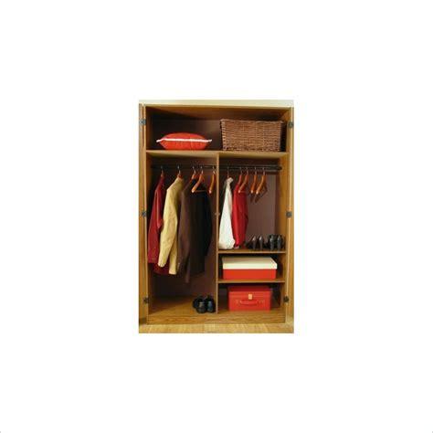 48 Wardrobe Closet by 48 Quot Oak Wardrobe Clothes Closet 9155 Ameriwood Home