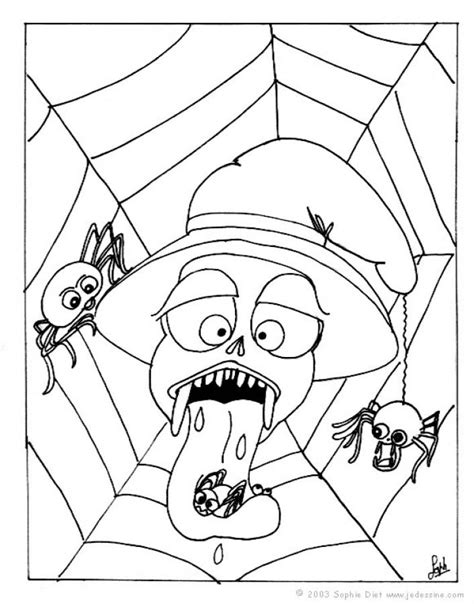 printable halloween spiders coloring pages halloween spider coloring pages to print 8x11 coloring pages