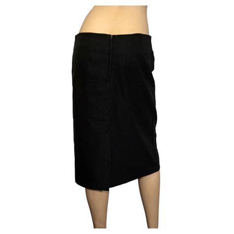 plus size pencil skirt black evogues apparel