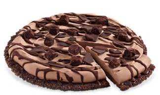 choco brownie treatzza pizza 174 dq cakes menu dairy queen