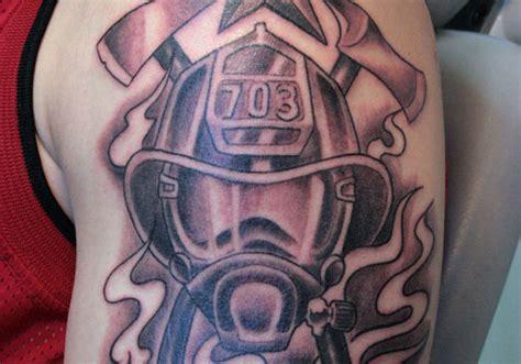 40 Impressive Firefighter Tattoos Creativefan Firefighter Tattoos Designs