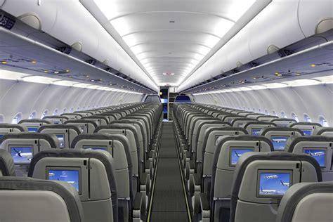 Interior Of Airbus Entrega Primeiro A320neo 224 Lufthansa