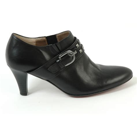 gabor shoes guinevere trouser shoe in black mozimo