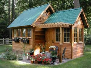 Backyard Cottage Backyard Cottage Garden Playhouses Pinterest
