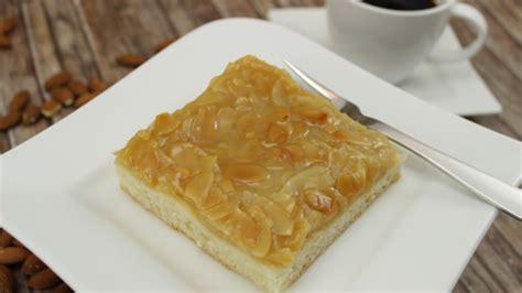 mandel honig kuchen honig mandel kuchen blech kuchen
