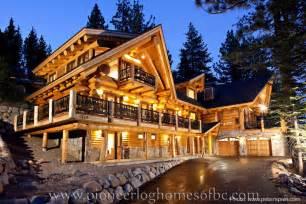 aj homes custom log homes picture gallery bc canada