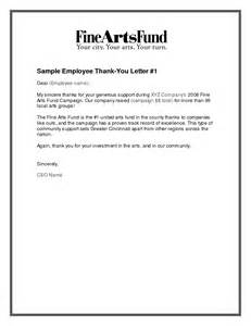 employment thank you letter vertola