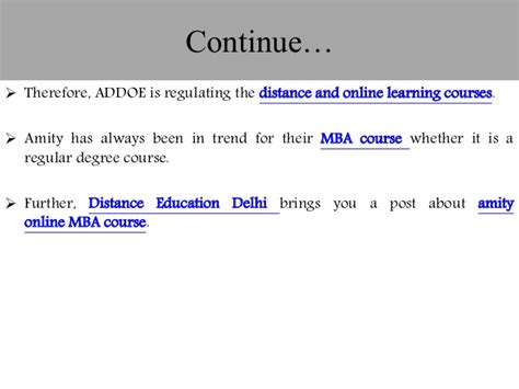 Unique Mba Programs In India by 10 Unique Facts Of Distance Mba Course From Amity