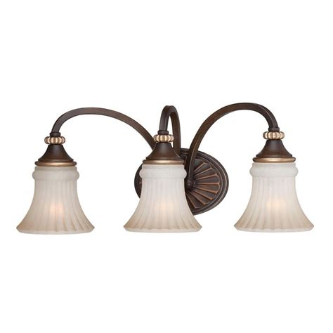 hton bay 4 light vanity fixture hton bay reims 3 light berre walnut vanity fixture 15363 the home depot