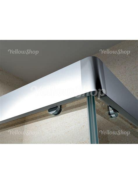 doccia rettangolare misure box doccia rettangolare in cristallo trasparente 6mm h 195 cm
