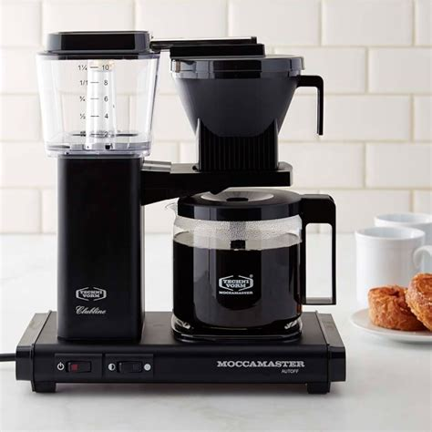 Technivorm Moccamaster Coffee Maker with Glass Carafe   Williams Sonoma
