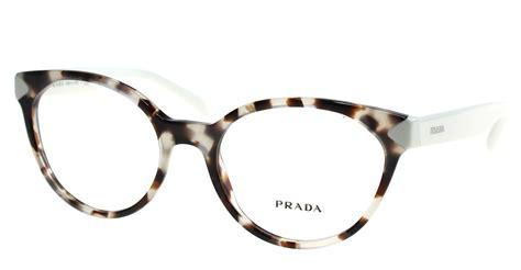 new prada eyeglasses womens vpr 01t white uao 101 vpr01t