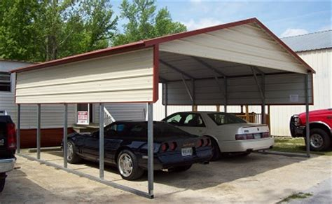 Cost Of Car Port by How Much Does A Metal Carport Cost