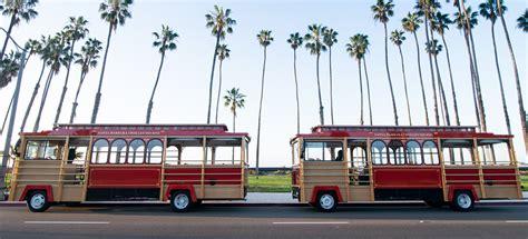 santa barbara trolley of lights santa barbara trolley tours and