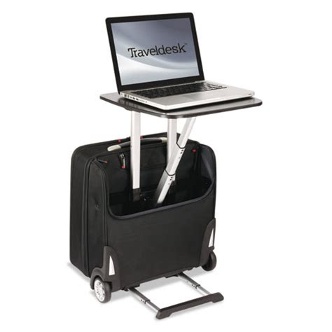 Travel Desk by Stebco Traveldesk Mobile Work Station Polyester 10 3 4