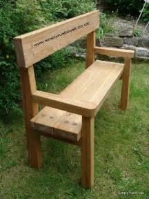 rustic wooden garden bench rustic gardens rustic oak garden bench with back rest
