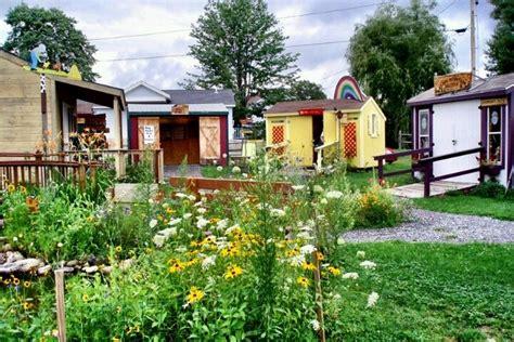 Tiny House Village Living Little Pinterest