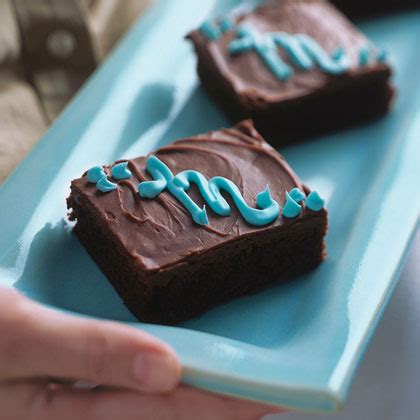 New Jumbo Brownies monogrammed jumbo brownies recipe myrecipes