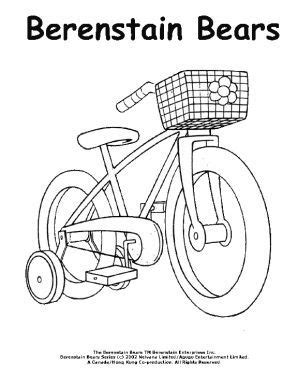 tricycle coloring pages preschool 100 best values images on pinterest elementary schools