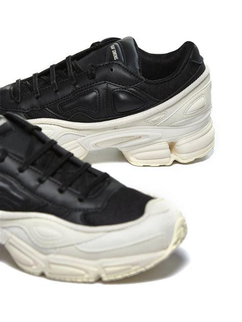adidas by raf simons adidas by raf simons ozweego sneakers nero beige 10727892 italist