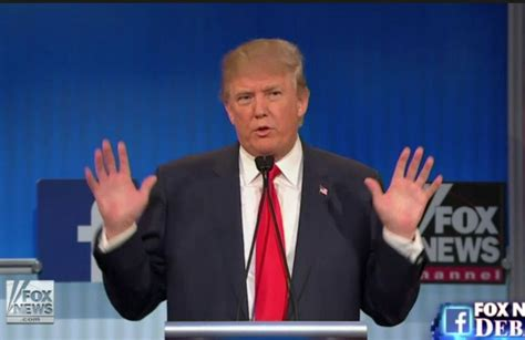 donald trump hands donald trump brags about genitalia at gop debate www