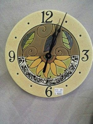 Handmade Ceramic Wall Clocks - 1000 images about clocks on ceramics wheels