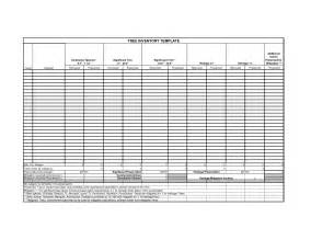 tree inventory template best photos of data inventory template sle inventory