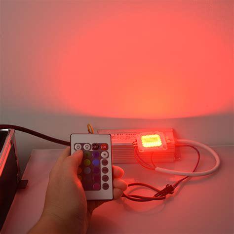 Lu Led 10w Rgb Remote rgb integrated cob led chip led bulb 10w 20w 30w 50w rgb