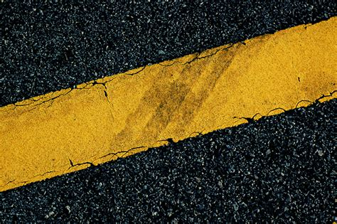 what color are stop lines yellow line road marking