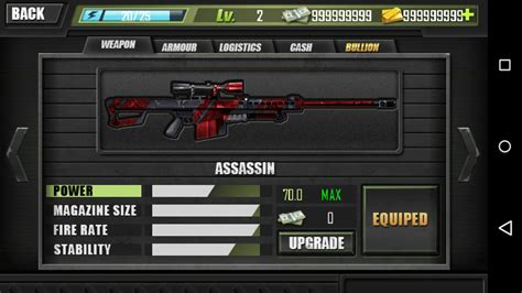 game mod tool apk modern sniper v1 9 mod apk unlimited gold and money