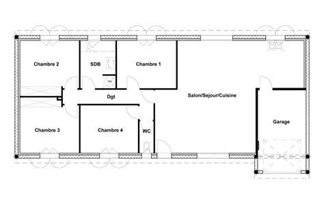 plan de maison 100m2 3 chambres plan maison 80m2 3 chambres maison primavera soussol 3