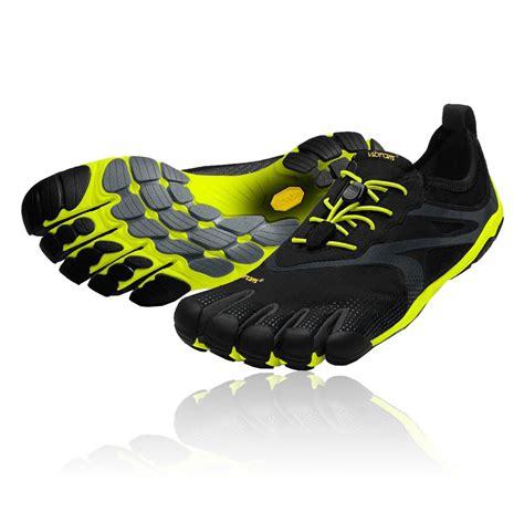 vibram sole running shoes vibram mens fivefingers bikila evo black megagrip rubber