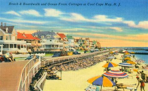 Room Decor Men Vintage Cape May Poster Boardwalk