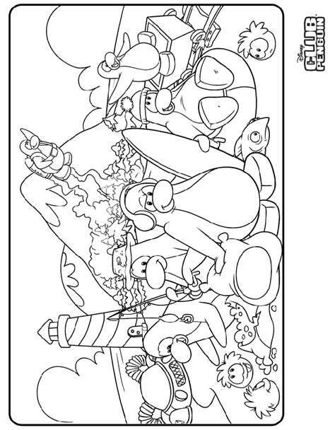 puffle coloring pages printable sketch coloring page