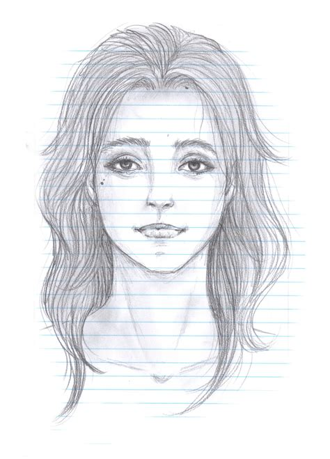 girl face drawing realistic girl face drawing art ideas
