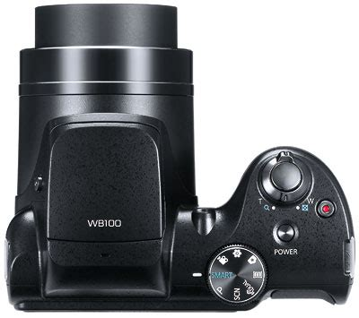 Kamera Samsung Wb100 superzoom kamera wb100 samsung photoscala