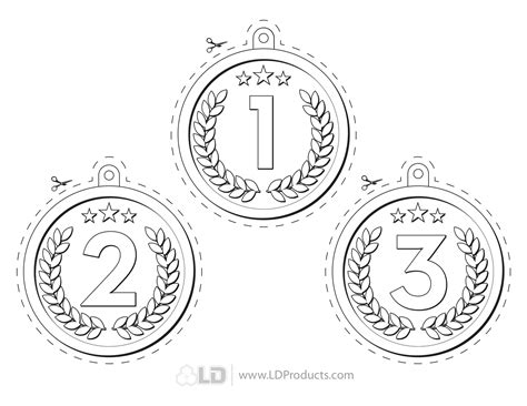 olympic medals coloring page www imgkid com the image