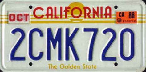 favorite state license plates? (movies, rain, driver