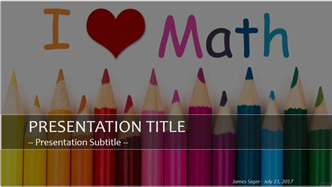math powerpoint template math powerpoint template 5057 free math powerpoint