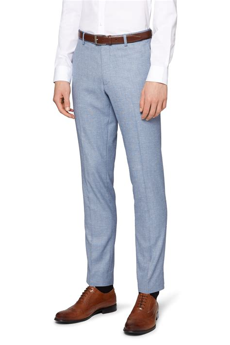 light blue slacks mens moss london mens light grey suit trousers slim fit